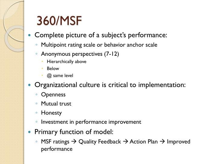 360/MSF