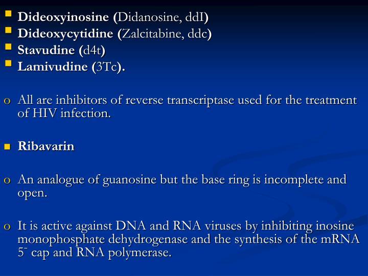 Dideoxyinosine