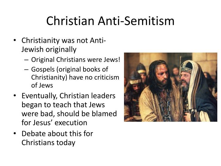 Christian Anti-Semitism