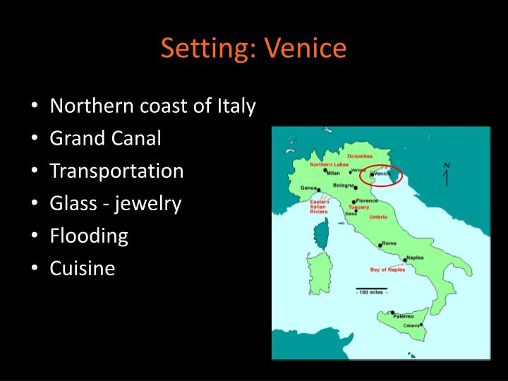 Setting: Venice