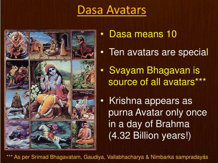 Dasa Avatars