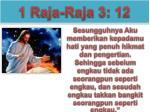 1 raja raja 3 12