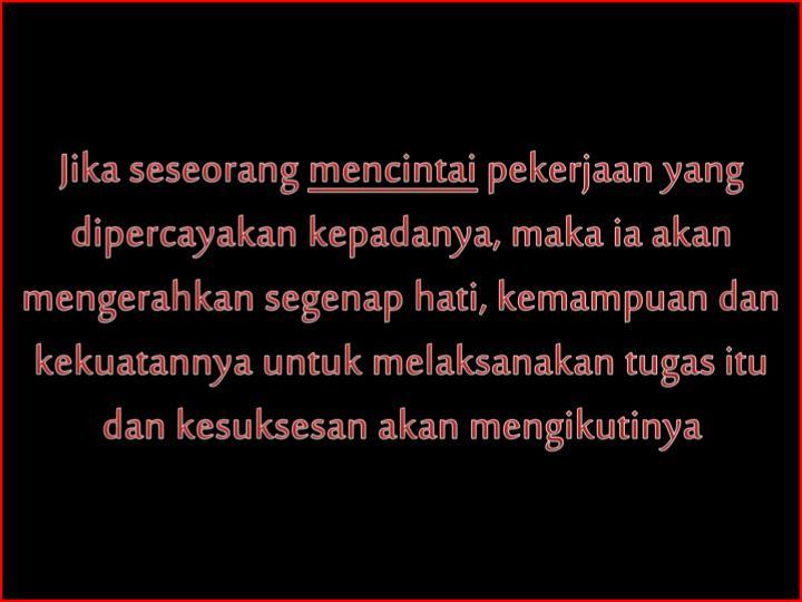 Jika seseorang