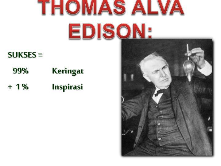 Thomas Alva Edison: