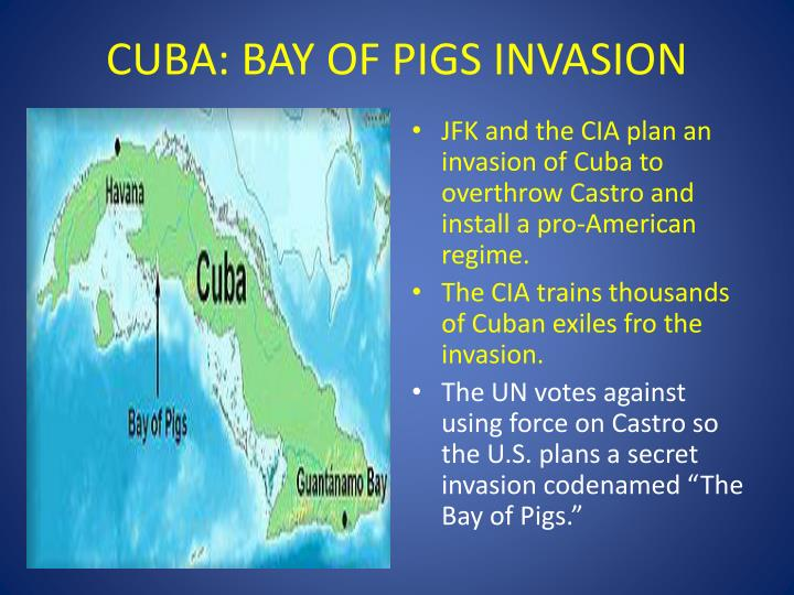 CUBA: BAY OF PIGS INVASION