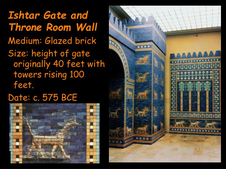 Ishtar Gate and Throne Room