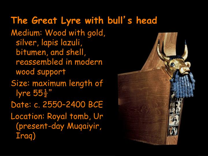 The Great Lyre with bull