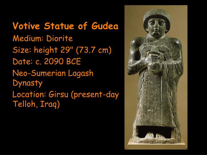 Votive Statue of