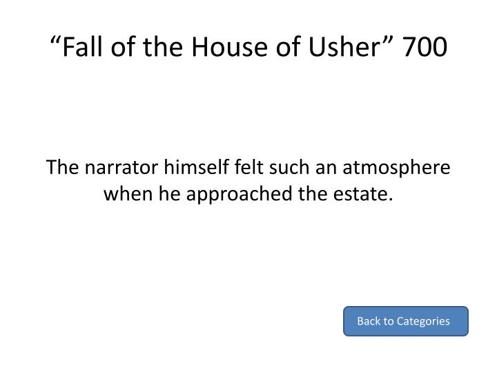 """Fall of the House of Usher"" 700"