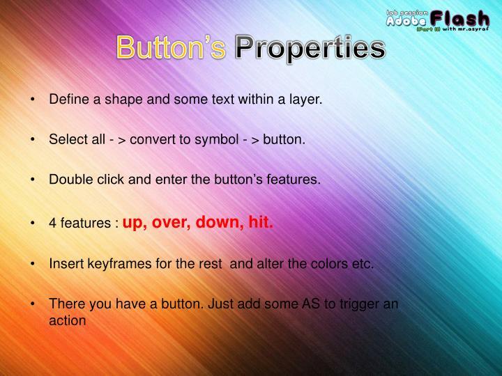 Button's
