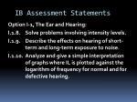 ib assessment statements2