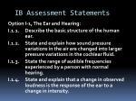 ib assessment statements3