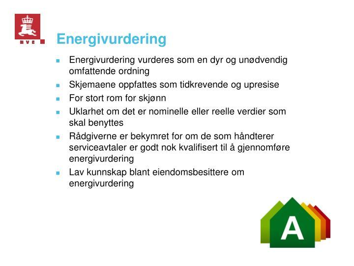 Energivurdering