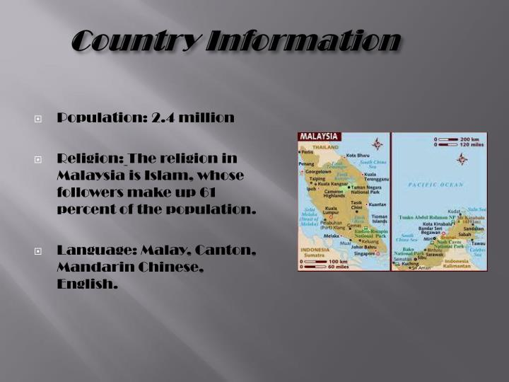 Country information