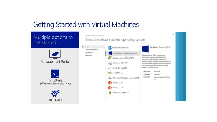 Getting Started with Virtual Machines
