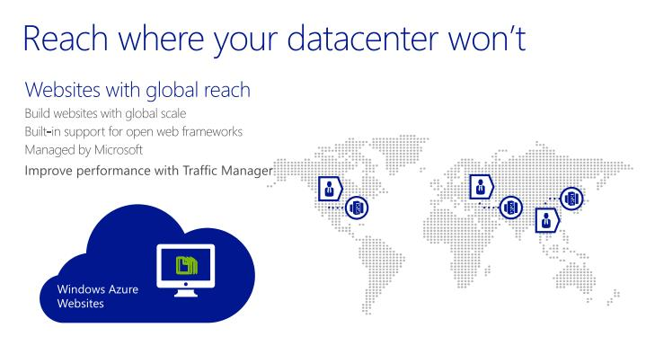 Reach where your datacenter