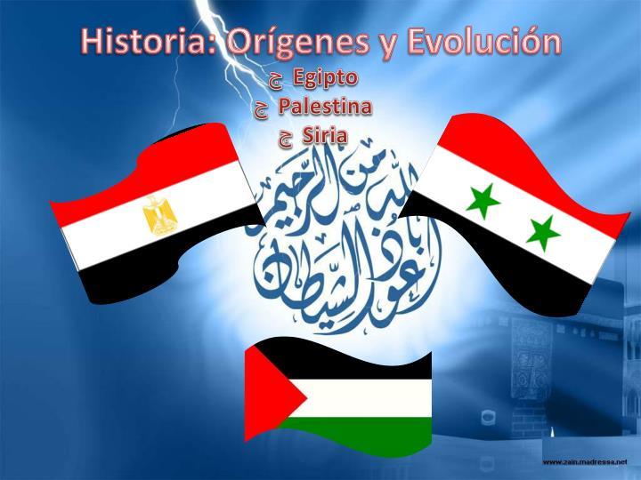Historia: Orígenes y Evolución