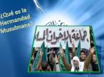 qu es la hermandad musulmana