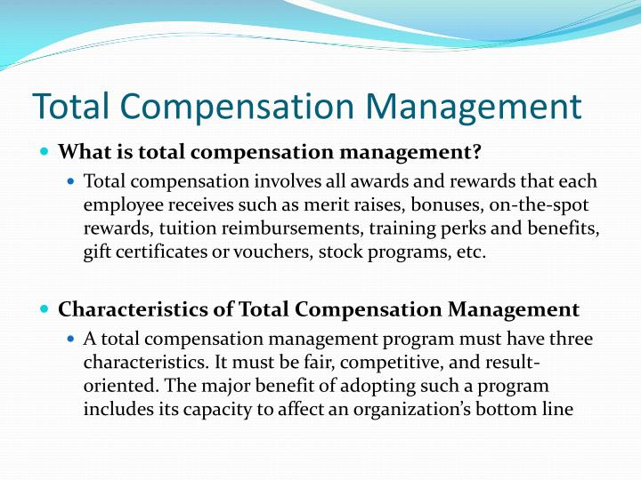 Total Compensation Management