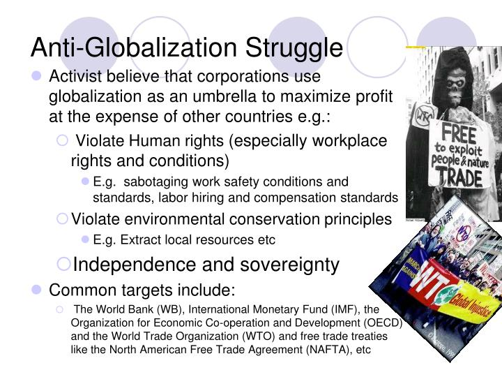 Anti-Globalization Struggle