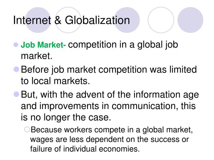 Internet & Globalization