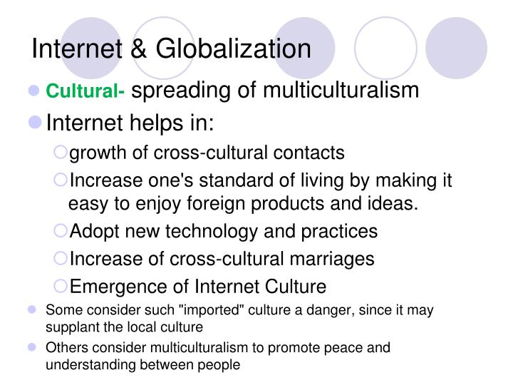 Internet & Globalization