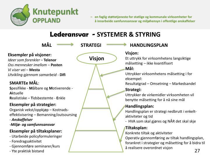 Lederansvar  -