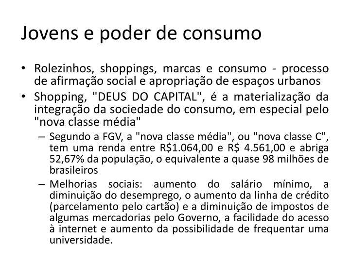Jovens e poder de consumo