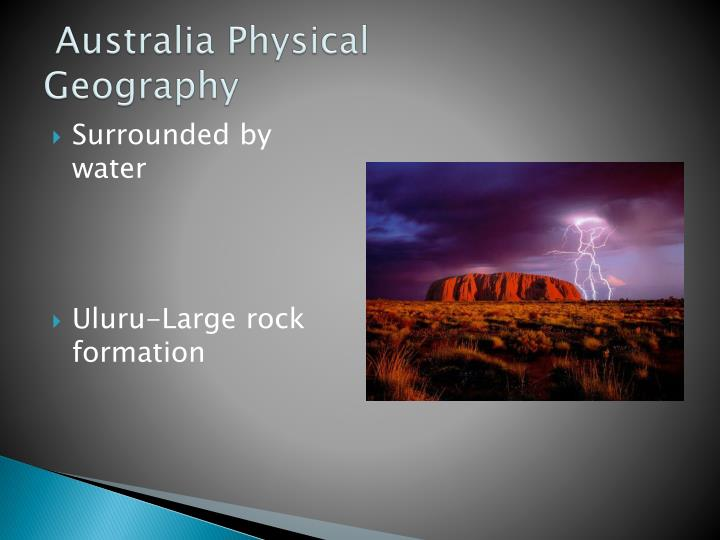 Australia physical geography