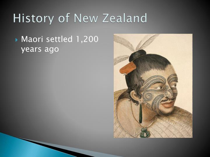 History of New Zealand