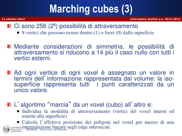 Marching cubes (3)