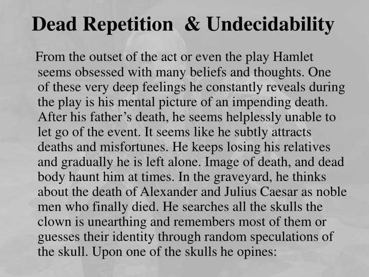 Dead Repetition  &
