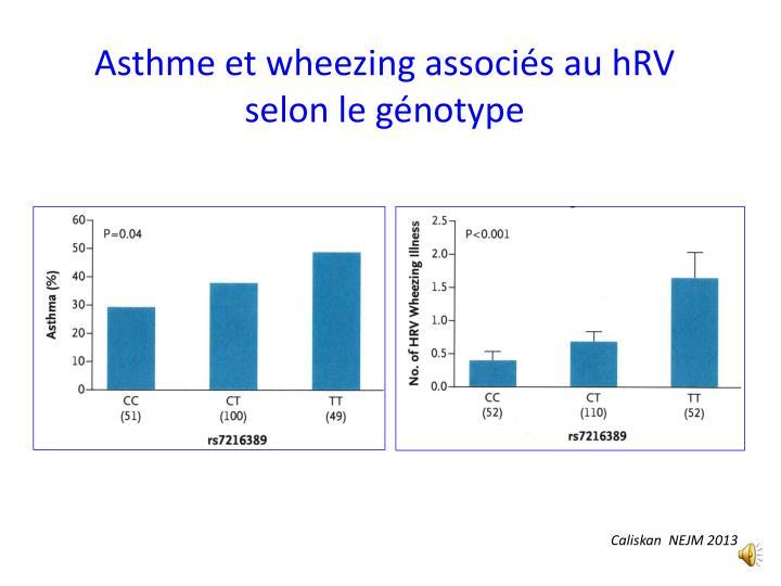 Asthme et