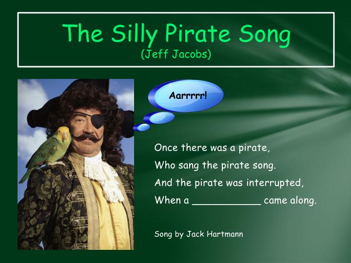 The Silly Pirate
