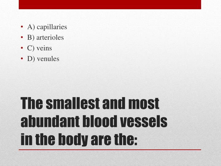 A) capillaries