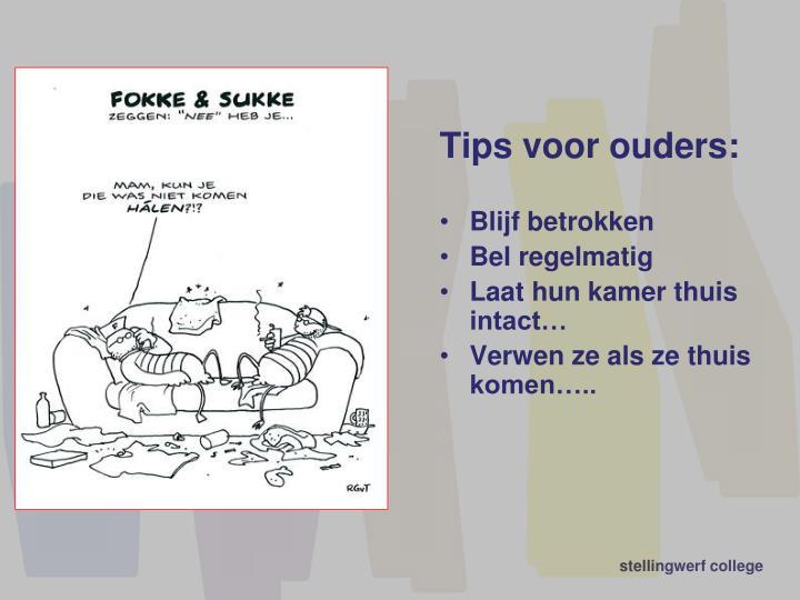 Tips voor ouders: