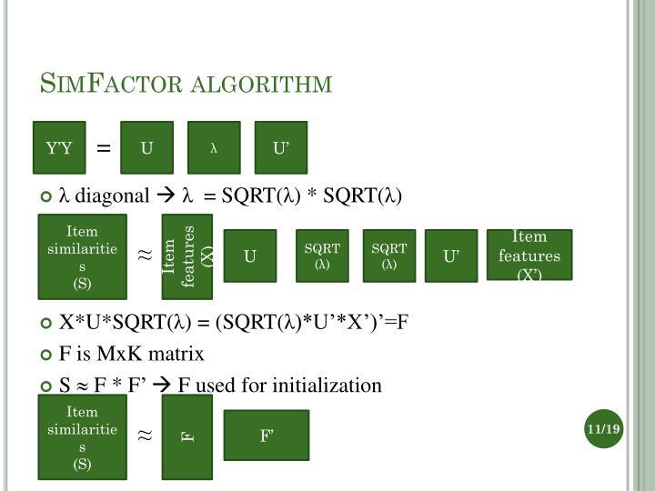 SimFactor