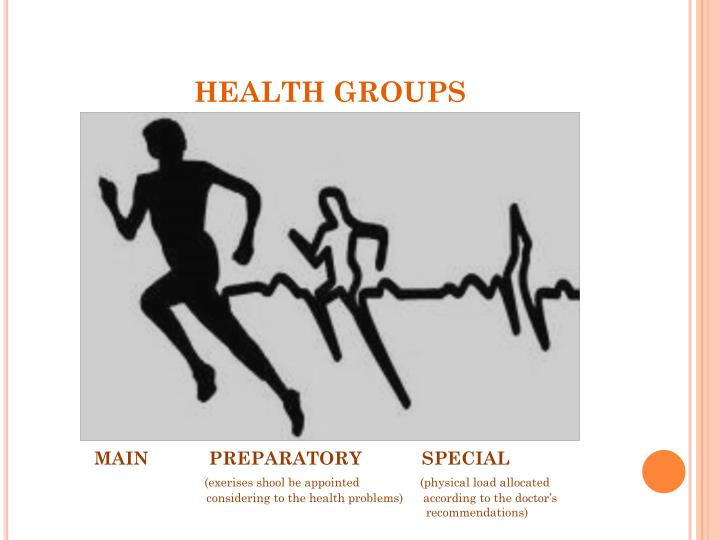 HEALTH GROUPS