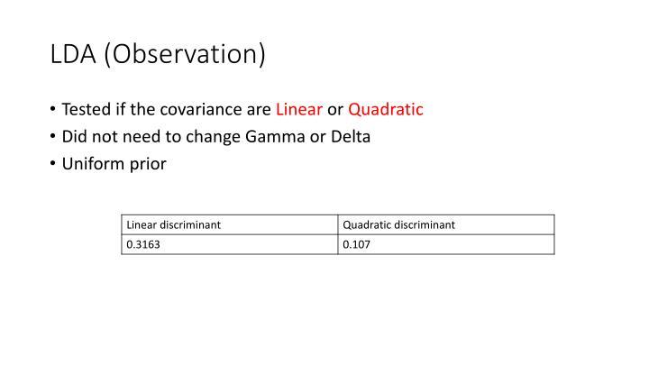 LDA (Observation)