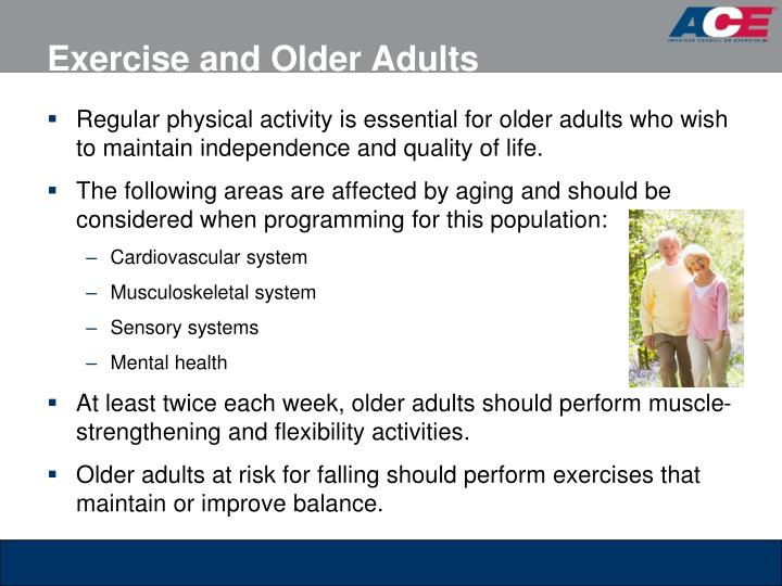 Exercise and Older Adults