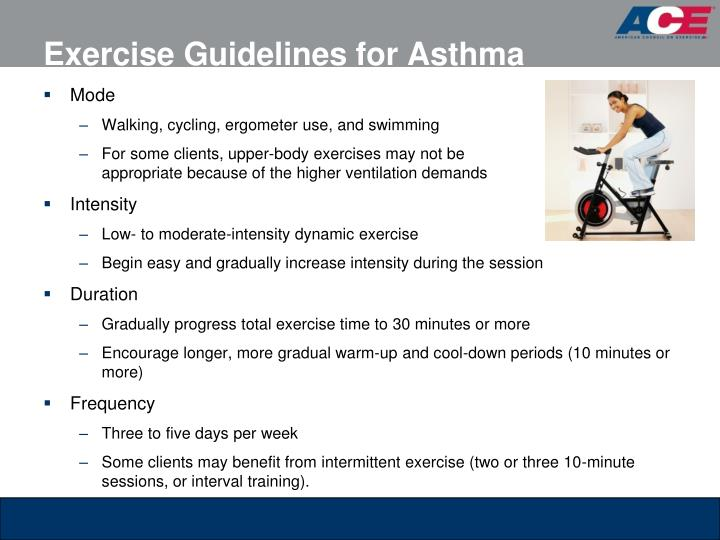 Exercise Guidelines for Asthma