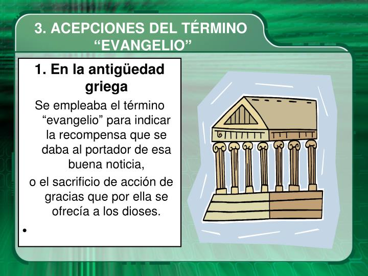 3. ACEPCIONES DEL TÉRMINO