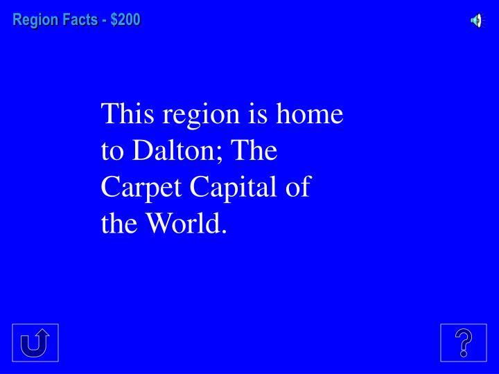 Region Facts