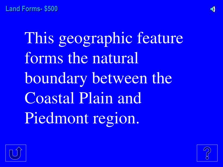 Land Forms-