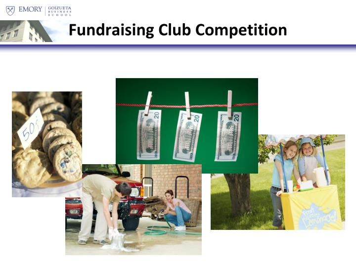 Fundraising Club Competition
