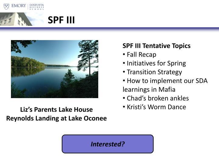 SPF III