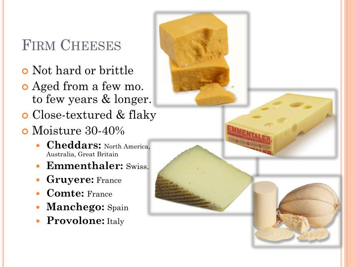 Firm Cheeses