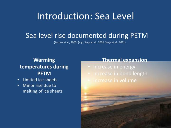 sea level rise thesis statement What this thesis is trying to learn is how people's relationship with shoreline xiang, thrive in sea level rise (2017 accessibility statement.