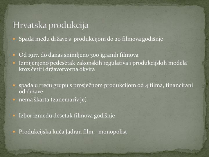 Hrvatska produkcija