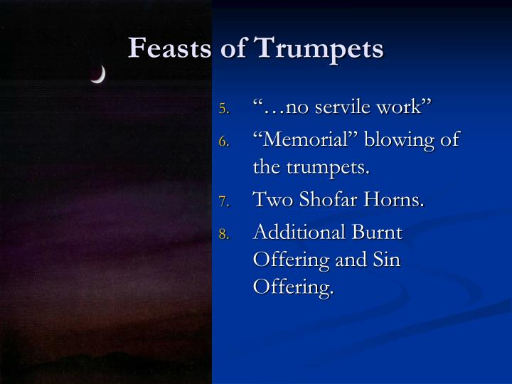 Feasts of Trumpets
